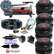 480C Air Compressor Ride Kit 200psi rate everything in picture 2500 Airspringbag