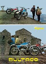 BULTACO Brochure Alpina 250 Trials 1971 1972 1973 1974 Catalog REPRO