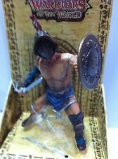 BBI Warriors of the World Series: Roman Gladiator With Sword And Shield 1:18 New