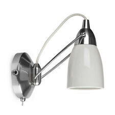 Shoreditch Wall Light in Porcelain White by Garden Trading