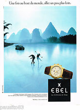 PUBLICITE ADVERTISING 065  1996  EBEL  montre  LE MOLUDOR 2