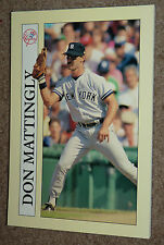 1991 Collectible Sport Art DON MATTINGLY Baseball Card Notepad Yankees Dodgers !