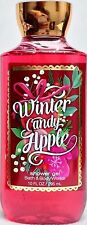 Bath & Body Works Winter Candy Apple Shower Gel - 10 oz - Brand New