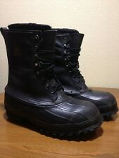 Mens Steel Toe Lacrosse Iceman Work Winter Hunting Boots Size 8