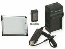 Battery + Charger for Nikon CoolPix S100 S3100 S4300 S3300