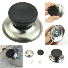 2pcs Newly Kitchen Replacement Cooker Pan Pot Cover Kettle Lid Handle Knob Grip