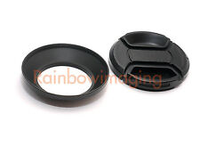 Metal Lens Hood / 58mm Filter Adapter as Nikon HN-CP17 for Nikon Coolpix P7700