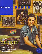 4/95 WALL PAPER magazine  BRUCE SPRINGSTEEN cover