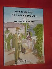 JRO TANIGUCHI- GLI ANNI DOLCI-n° 2 -RIZZOLI LIZARD-NUOVO-