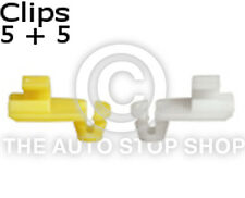 Door lock Rod Clip 4 MM Renault Kangoo/Koloes etc Part No. 1277re Quantity 5 + 5