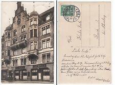 Nürnberg, Cafe Sebald und Geschäft Stefan Angerer Foto AK 1926