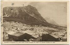 1928 Cortina d'Ampezzo Creda Serapis Monte Atelaio Merano Svizzera FP B/N VG