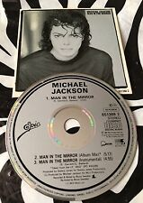 Michael Jackson - Man In The Mirror Rare Original 1988 CD Single