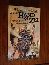 L. Sprague de Camp - The Hand of Zei ACE PB August 1982 VG 1st Printing