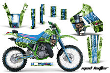 Kawasaki KDX200 Graphic Kit AMR Racing # Plates Decal Sticker Part 89-94 KDX MH