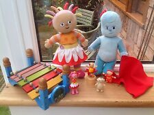 In The Night Garden Talking/Singing Upsy Daisy Iggle Piggle Toy Figures Bundle