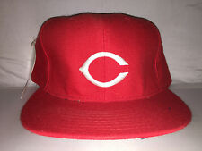Vtg Cincinnati Reds NEW ERA Fitted hat cap size 7 5/8 Doughboy 90s NWT diamond