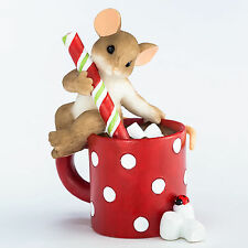 Charming Tails Mouse Sweetness Warms the Season Figurine NEW 4046948 Christmas