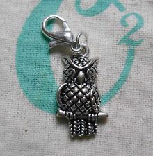Authentic Origami Owl 1ST GENERATION SILVER OWL DANGLE 2012 very RARE & HTF
