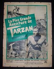 Tarzan's Greatest Adventure,  ALa Plus Grande Aventure De Tarzan, Gordon Scott,