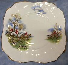 Fox Hunt Hunting Arklow Square Cake Plate