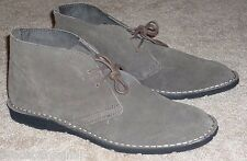 MENS GRAY SUEDE CASUAL SHOES Size 9 by MERONA - BRAND NEW