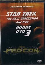Star Trek Next Generation Bonus DVD 3 FedCon NEU OVP