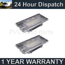 2X FOR BMW 1 SERIES E82 E88 24 WHITE LED BOOT FOOTWELL GLOVE BOX LIGHT LAMP
