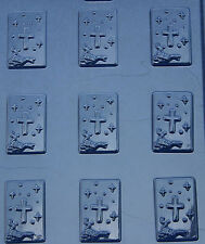 BAPTISM MINT SMALL CHOCOLATE COMMUNION CANDY MOLD MOLDS FAVORS CUPCAKE TOPPER