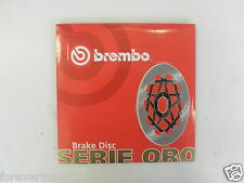 BREMBO DISCO FRENO POSTERIORE  SERIE ORO PIAGGIO ENERGY EXTREME DD  50  1999