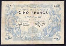Algeria 5 Francs 1916  P-71