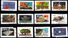 France 2012 Stamp Day Soil Protection Complete Set of Stamps P Used S/A On Paper