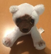 Russ Tiny White Siamese Cat Plush 6""