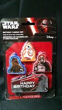 4Pc Disney Star Wars The Force Awakens Birthday Party Cake Decoration Candles