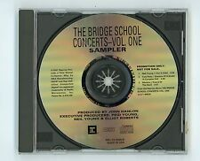 Neil Young Tom Petty Ministry 1997 Promo CD EP Bridge School Concerts Vol.One