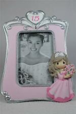 "Precious Moments 'Quinceanera Photo Frame' 15th  For 4""x 6"" Picture  #133415 NIB"