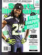 July 29, 2013 Richard Sherman Seattle Seahawks Sports Illustrated NO LABEL A