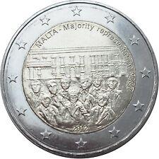 ***    2 EURO COMMEMORATIVE - UNC - MALTE 2012 -