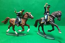 Airfix 1:32nd US 7th CAVALRY x 2, dipinto a mano.