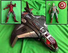 Marvel Universe The AVENGERS QUINJET Iron Man Captain America SHIELD Costco