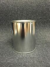 QUART SIZE EMPTY METAL PAINT CANS WITH LIDS (12 CANS AND 12 LIDS)
