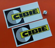 x 2 CIBIE Spot light Stickers  150mm x 75mm  7-10 year vinyl eco solvent inks