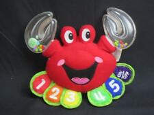 SPANISH LANGUAGE ENGLISH LEAPFROG BABY COUNTING RED CRAB RATTLE PLUSH TOY