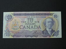 1975 $10 DOLLAR BILL BANK NOTE CANADA REPLACEMENT BILL*TC1178008 UNC
