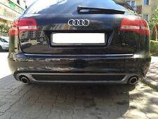 "AUDI A6 C6 "" SLINE "" AVANT & LIMO REAR DIFFUSOR 08-11 for standard bumper only"