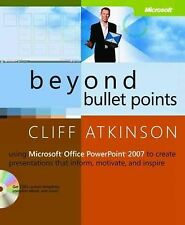 Beyond Bullet Points: Using Microsoft® Office PowerPo
