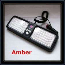 Emergency Super Bright 86 Led Strobe Visor Amber light