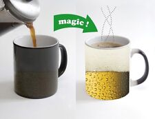 Beer Color Changing Magic Heat sensitive Tea Cup Coffee Mug gift 132