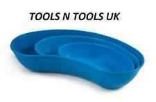 3 Pcs Plastic Kidney Tray Dish 6'', 8'' & 10'' Surgical/ Vet / Tattooist /Beauty