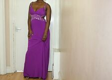 Hailey Logan EVENING GOWN MAXI LONG PARTY PROM EVENING DRESS UK size 14/16